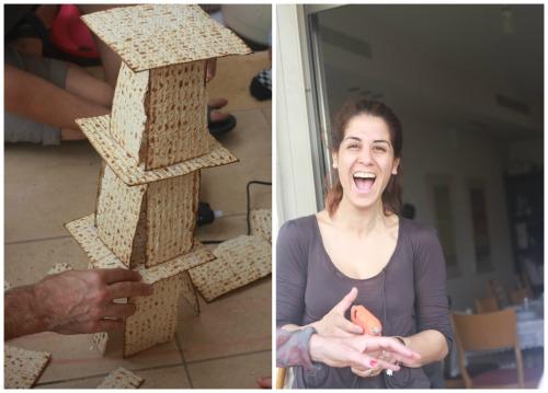 מגדל מצות משחקים לפסח
