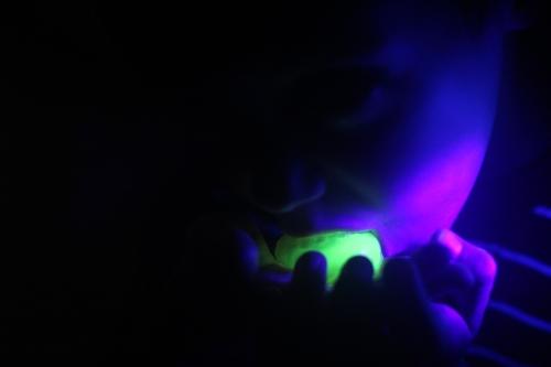 edible glow in the dark bubble